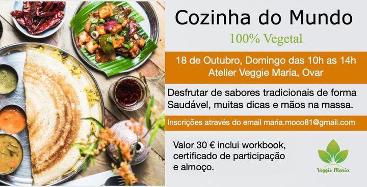 Cozinha do mundo 100% vegetal