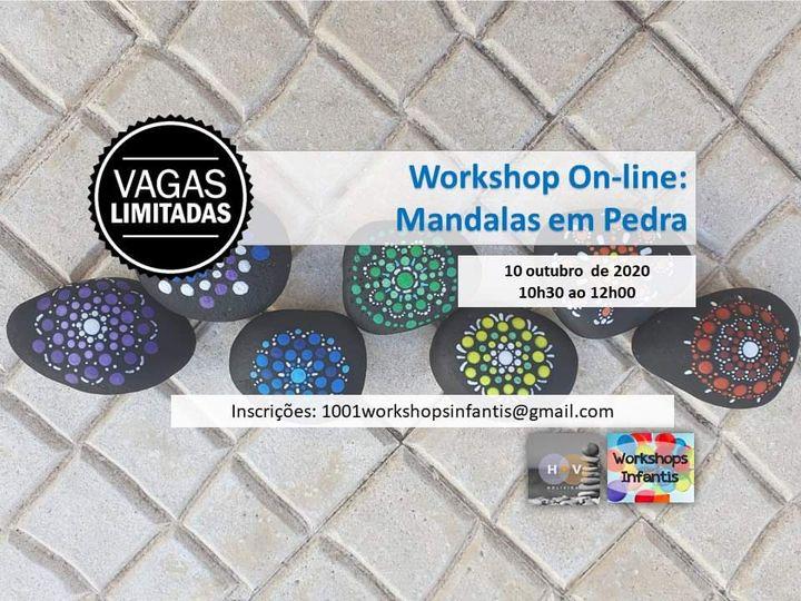 Workshop On-line: Mandalas em Pedra