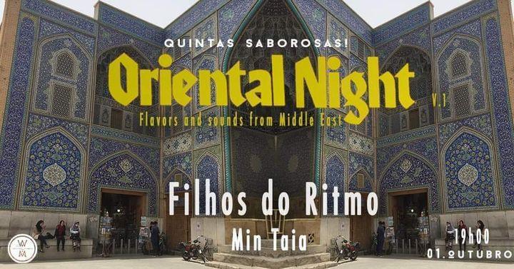 Oriental Night::Vegan dinner & music