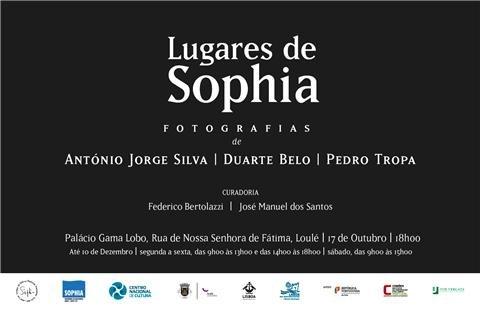 """Exposição """"Lugares de Sophia"""""""