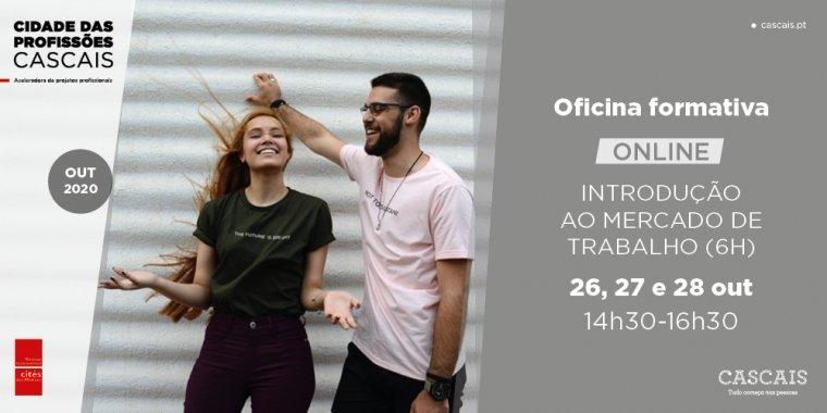 Oficina Formativa Online: Introdução ao mercado de trabalho (6 horas)