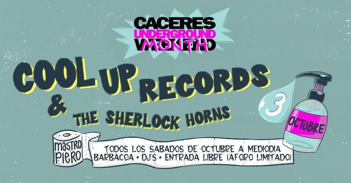 Cool Up Records & The Sherlock Horns / 03 Octubre 2020 / Cáceres