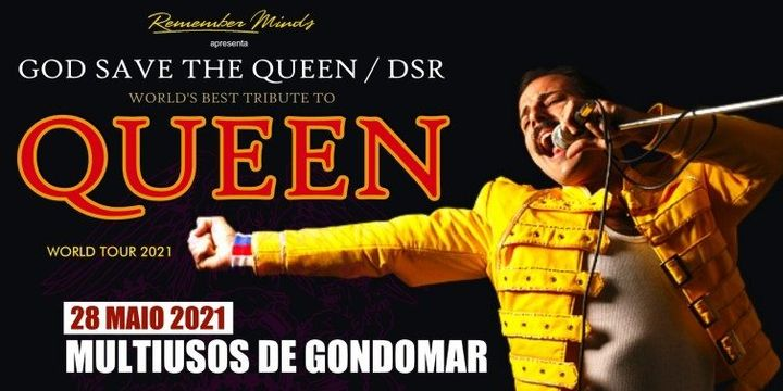 God Save The Queen | Tributo aos Queen