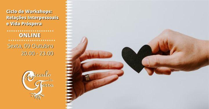 Workshop: Aceitação, Auto-perdão e Auto-estima