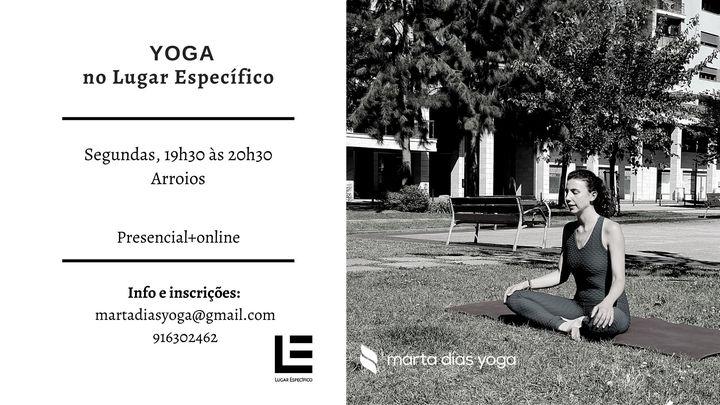 Aulas de Yoga no Lugar Específico