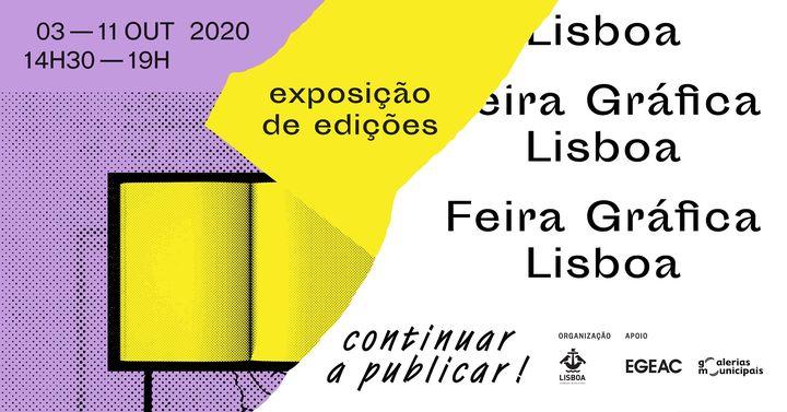 Feira Gráfica Lisboa - 3ª edição