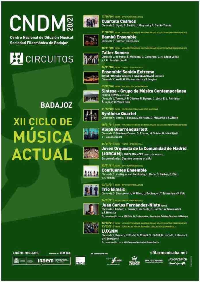 XII Ciclo de Música Actual de Badajoz – 'Bambú Ensemble'