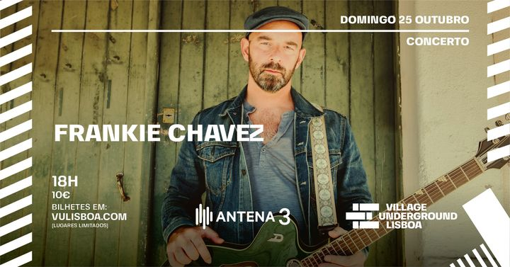 Dom 25 Out - Concerto Frankie Chavez