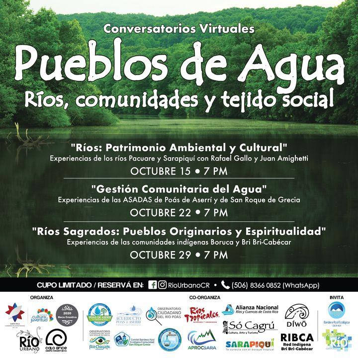 Conversatorios 'Pueblos de Agua: Comunidades, Ríos y Tejido Social'
