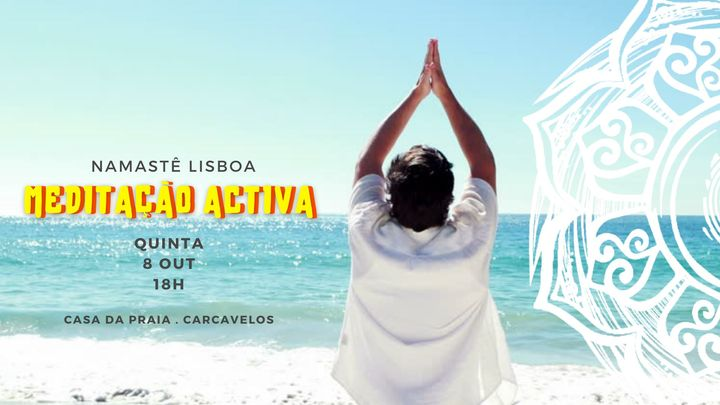 Meditação Activa na Praia de Carcavelos