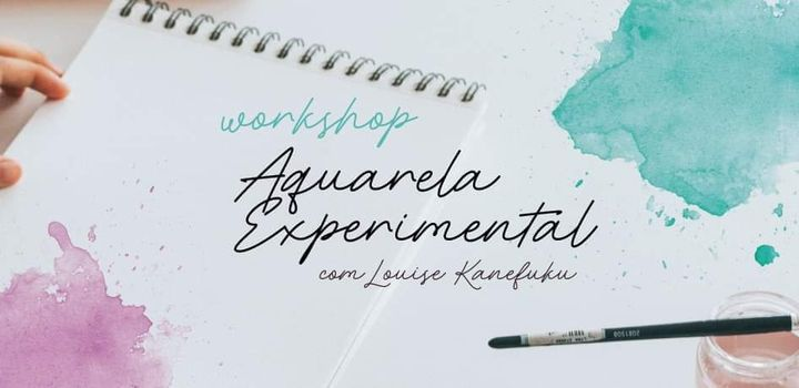 Workshop de Aquarela Experimental | Experimental Watercolour