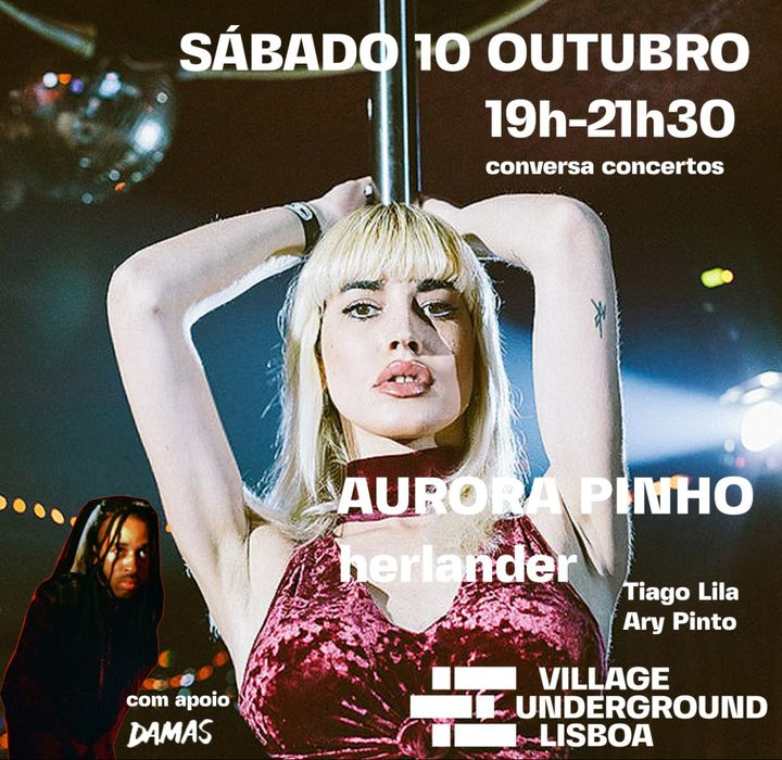 AURORA PINHO & herlander + Conversa 'Translúcidx'