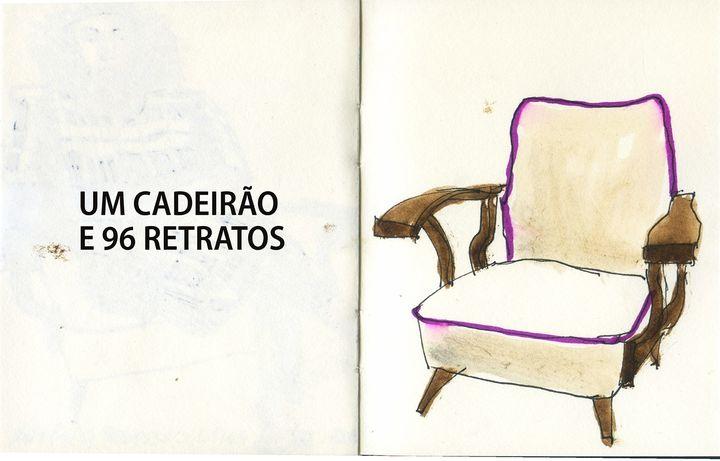 Um Cadeirão e 96 Retratos | Exposição de Eduardo Salavisa