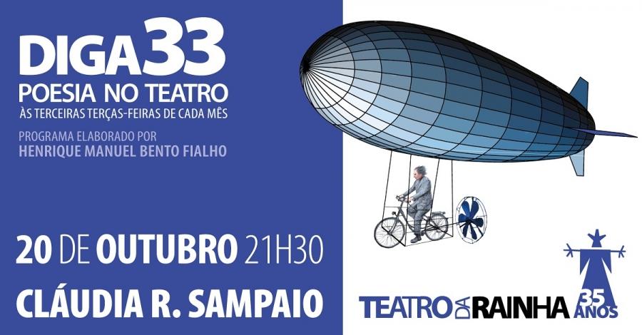 Diga 33 com Cláudia R. Sampaio