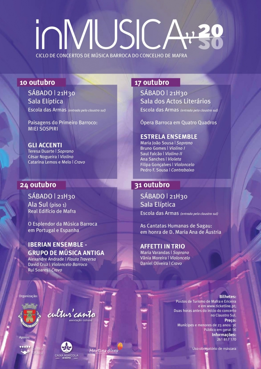 ciclo de Concertos In'Musica com Iberian Ensemble