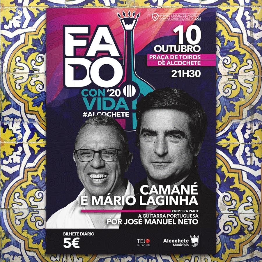 Fado ConVida - Concerto com Camané e Mário Laginha