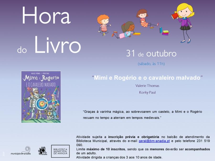 Hora do Livro - 'Mimi e Rogério e o cavaleiro malvado'