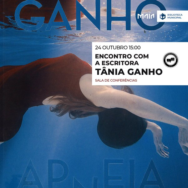 Encontro com a escritora Tânia Ganho