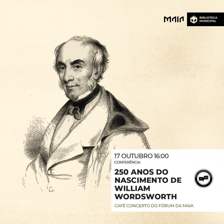 '250 anos do nascimento de William Wordsworth'