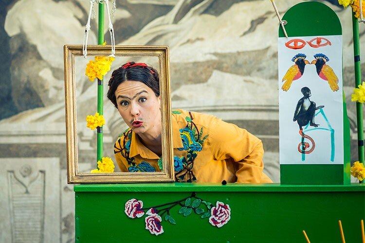 Ciclo Antiprincesas: Frida Kahlo