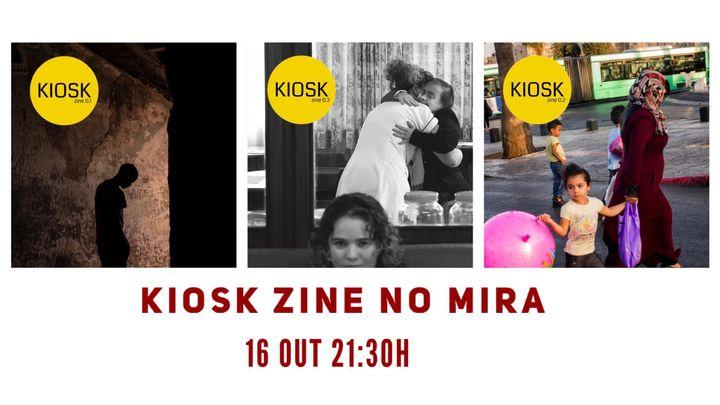 Projeto Kiosk Zine no MIRA
