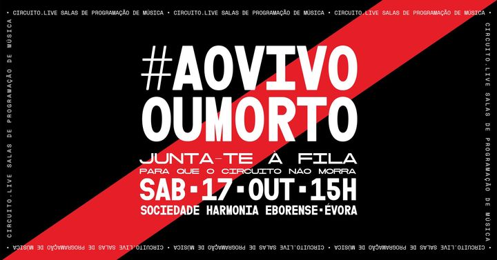 Junta-te à fila • #aovivooumorto • Évora