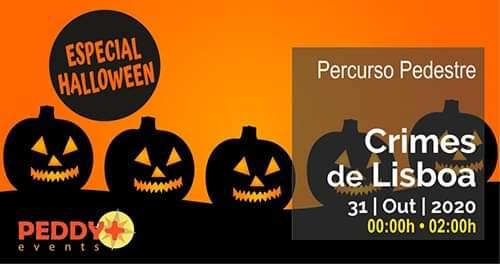 Percurso Pedestre 'Crimes de Lisboa' (Especial Halloween)