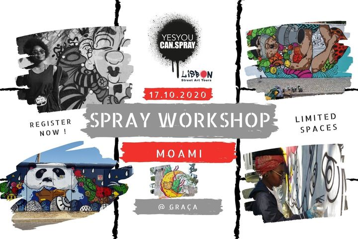 SPRAY for ALL | Graffiti Workshop