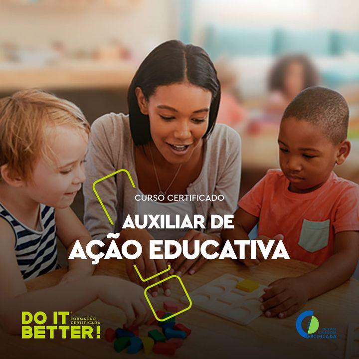 Curso Técnico Auxiliar de Ação Educativa - Presencial/Videoconferência