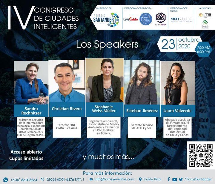 IV Congreso de Ciudades Inteligentes