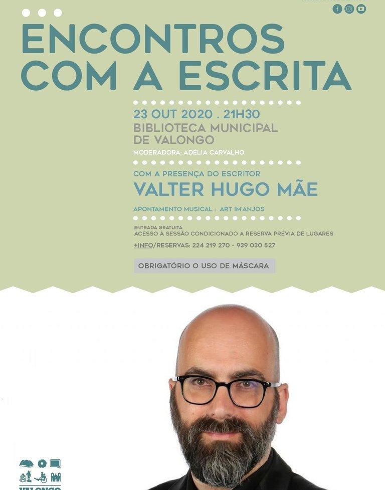 Valter Hugo Mãe no 'Encontros com a escrita'