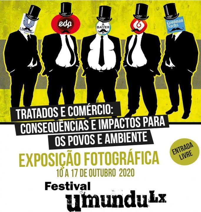 Exposição fotográfica da TROCA no Festival Umundu Lx