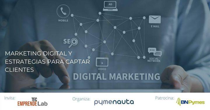 Marketing digital y estrategias para captar clientes