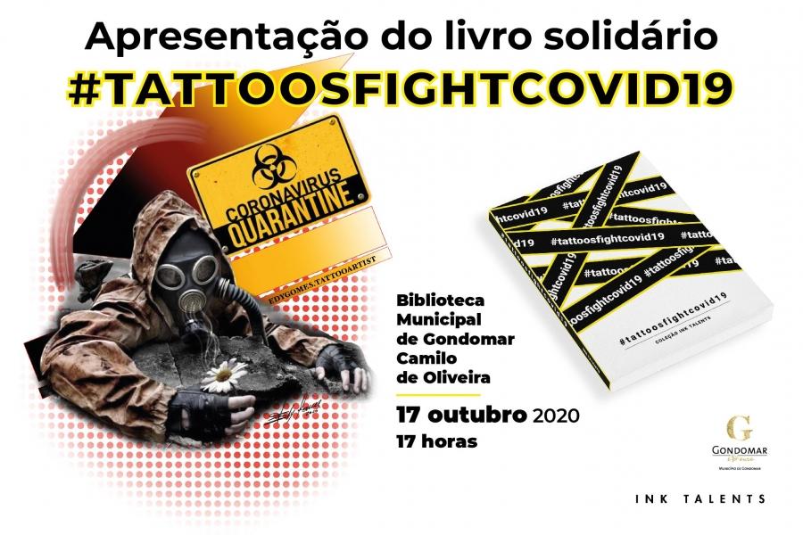 Apresentação do livro solidário #tattoosfightcovid19