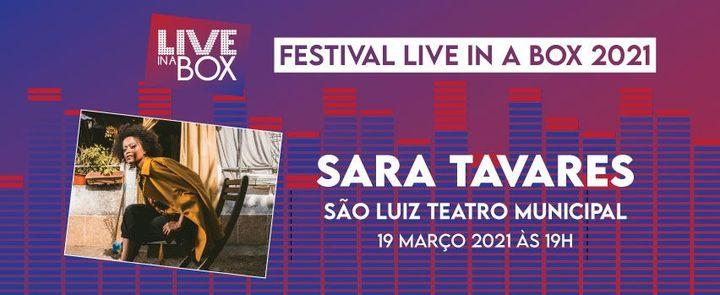Sara Tavares | Festival Live in a Box | Lisboa