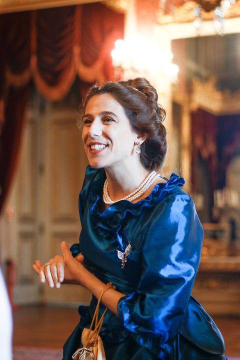 A rainha mostra o Palácio da Ajuda *especial aniversário D. Maria Pia