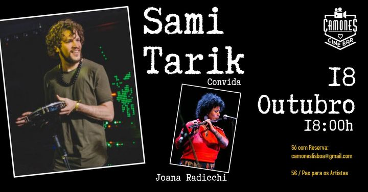 Sami Tarik e Joana Radicchi