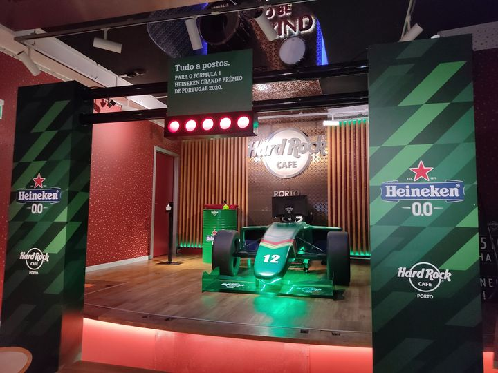 Heineken Simulador F1 - Ganha Bilhetes para o Grande Prémio F1