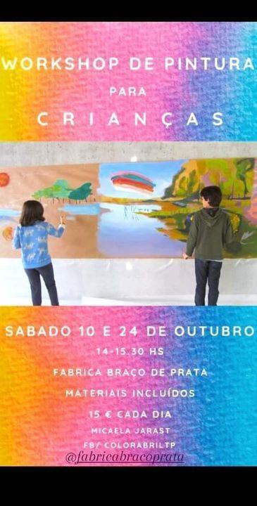 Encontros de Pintura para Crianças