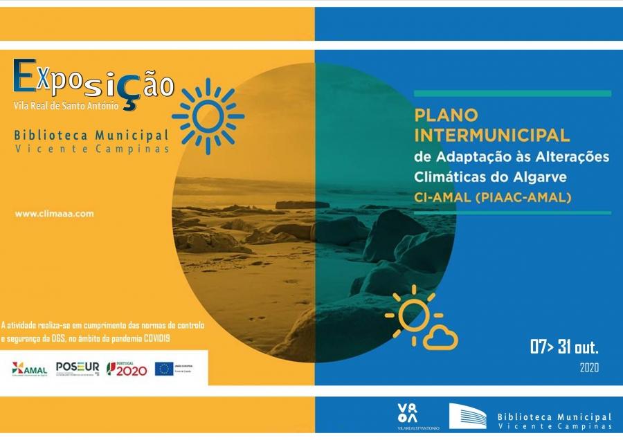 Exposição «Plano Intermunicipal de Adaptação às Alterações Climáticas do Algarve»