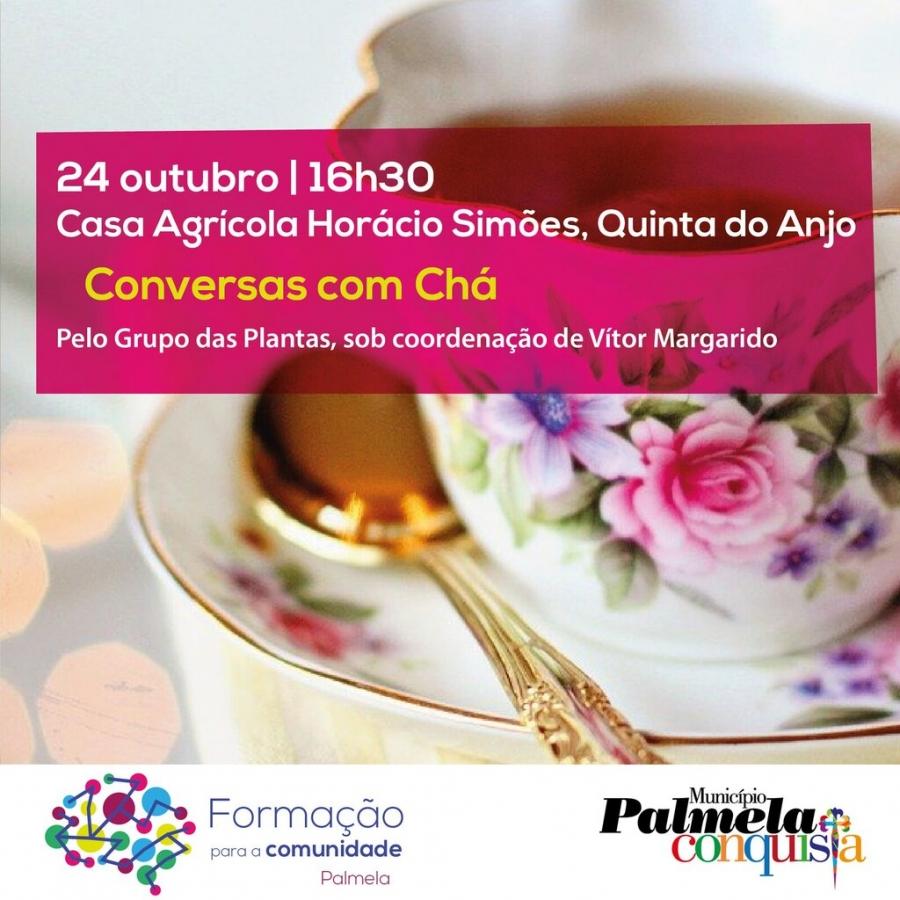 'CONVERSAS COM CHÁ'