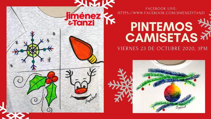 Pintemos Camisetas Facebook Live Navideño