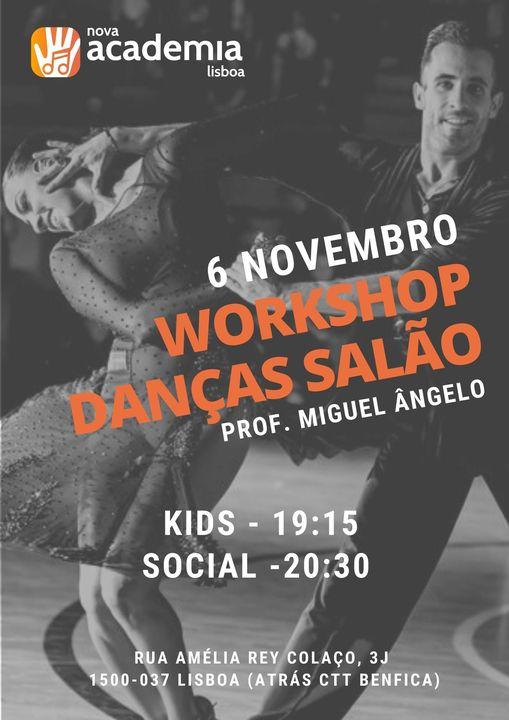 Workshop danças de salão