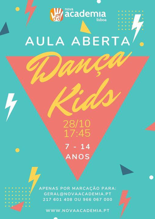 Aula aberta: dança kids