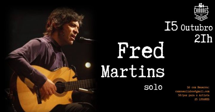 Fred Martins - solo