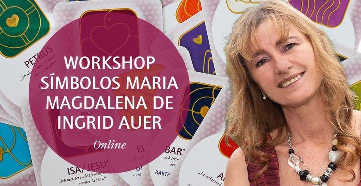 Online   Workshop Símbolos Maria Madalena de Ingrid Auer®