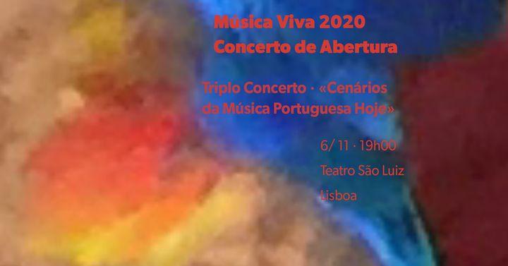 Música Viva 2020 · Concerto de Abertura