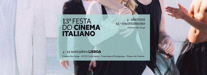 13ª Festa do Cinema Italiano | Lisboa