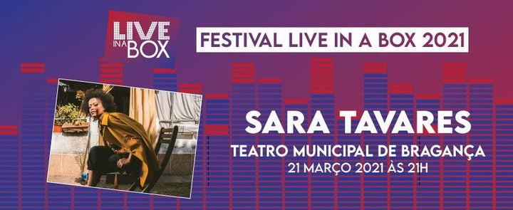 Sara Tavares   Festival Live in a Box 2021   Bragança