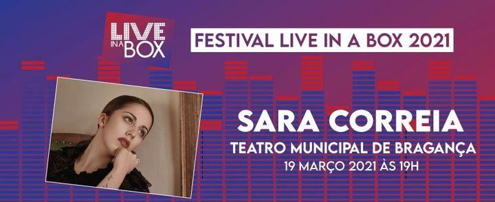 Sara Correia | Festival Live in a Box | Bragança